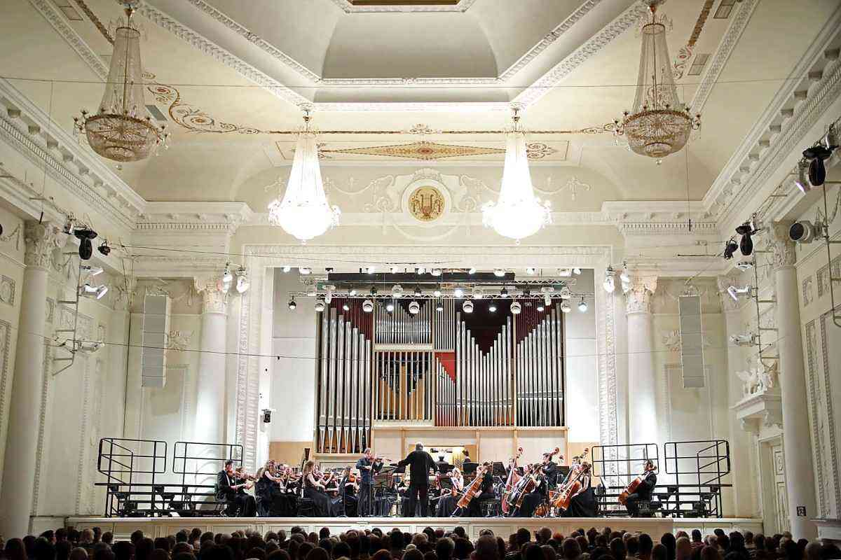 Concerts of the Ural Academic Philharmonic Orchestra and Symphony Choir of the Sverdlovsk Philharmonic Society (2 performances)