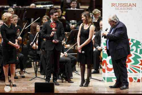 The closing ceremony of the Russian seasons in Italy