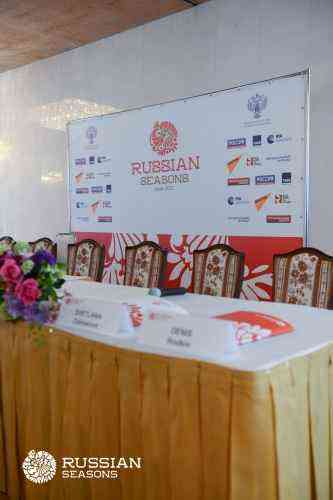 Press conference dedicated to the start of the Russian seasons in Japan