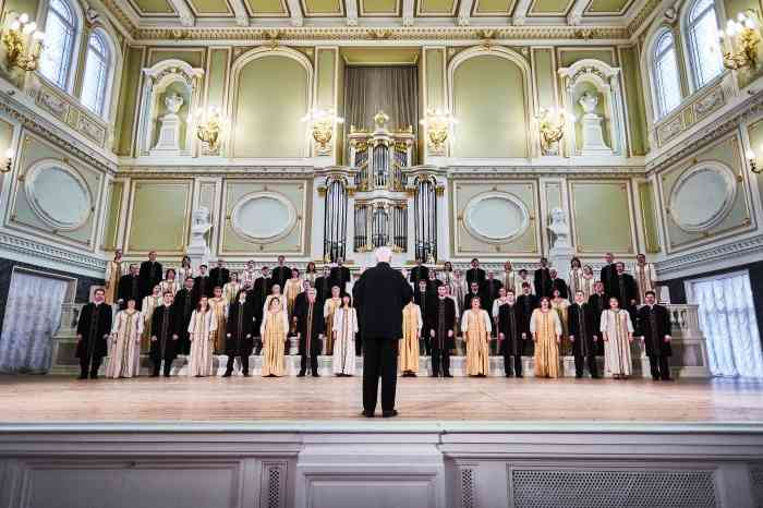 SAINT PETERSBURG STATE ACADEMIC CAPELLA WILL PERFORM IN BERLIN